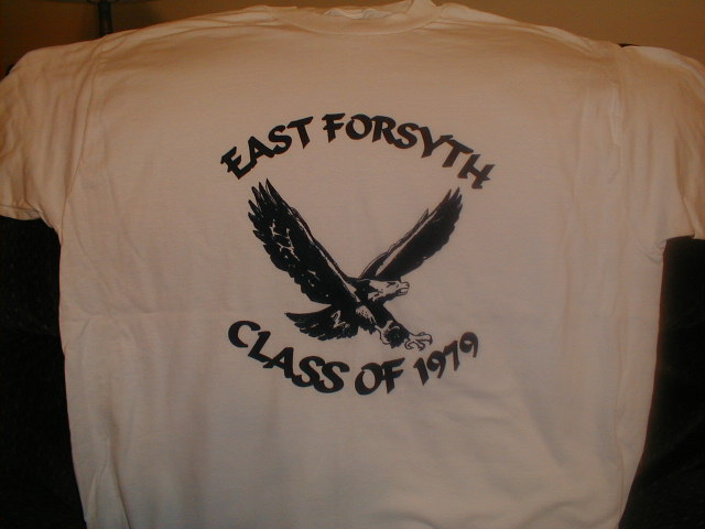 East Forsyth Class of 1979 T-shirt
