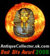 Antique Collector Best Site Award (2008)