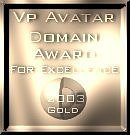 VP Avatar Domain Award: Gold